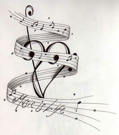ideas music tattoo drawings ink for 2019 Music Tattoo Designs, Design Tattoo, Music Tattoos, Life Tattoos, Body Art Tattoos, Tatoos, Music Drawings, Tattoo Drawings, Tattoo Cat