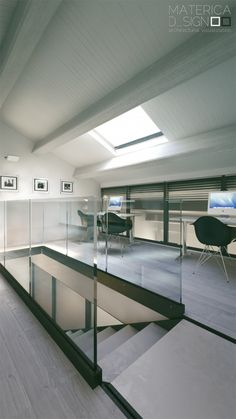 Loft Office, what we all need. #Office #Style #Class #Business #Fashion