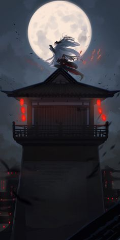 Japanese Artwork, Scenery Wallpaper, Light Novel, Fantasy Artwork, Chinese Art, Art And Architecture, Cute Drawings, Aesthetic Wallpapers, Anime Art