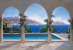 wall murals - Google Search
