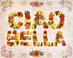 Ciao Bella  PAPER PRINT italian decor italian quote by Jenndalyn, $20.00