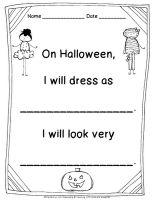Freebielicious: Halloween Costume Writing
