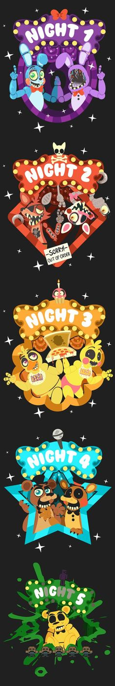5 NIGHTS AT FREDDY'S by CircusTent on DeviantArt