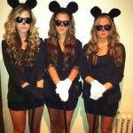 3 blind mice. Cute costume idea!