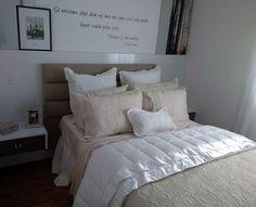 O seu quarto merece todo o conforto para uma boa noite de sono!!