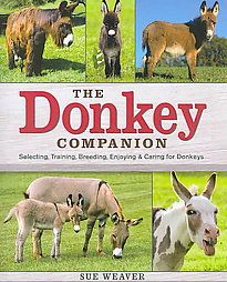 @Overstock - Friendly, dependable, intelligent, and easy to care for, donkeys are increasingly prized by small-scale farmers, horse lovers, and animal enthusiasts. Already, there are hundreds of thousands of donkeys and mules in the U.S., and their population is gr...http://www.overstock.com/Books-Movies-Music-Games/The-Donkey-Companion-Paperback/2858721/product.html?CID=214117 $15.34