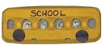 egg carton school bus