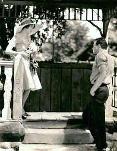 z- Gary Cooper & Fay Wray- 'First Kiss', 1928