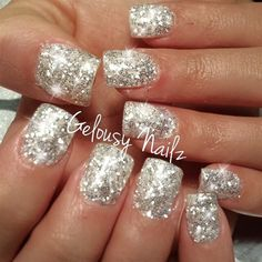 Chrome Bling by GelousyNailz from Nail Art Gallery
