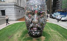 Gumhead Douglas Coupland Vancouver Art Gallery