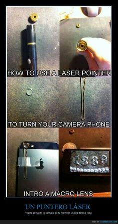 Convertir la cámara de tu móvil en una lupa