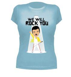 Camiseta Freddie Mercury by creotumundo