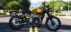 2014 Triumph Scrambler. SpookyFast.com