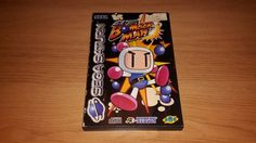 Saturn Bomberman PAL  #retrogaming #HotSS  complete in box. Auction from the UK. Only 7 hours left.