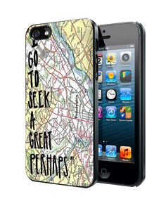 Looking For Alaska Quote Map Samsung Galaxy S3 S4 S5 Note 3 Case, Iphone 4 4S 5 5S 5C Case, Ipod Touch 4 5 Case