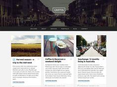 Griffin WordPress Theme