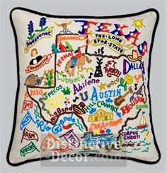 texas pillow. I want this.