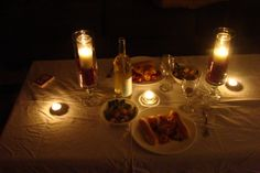 1000 images about cena rom ntica en casa on pinterest - Cena romantica a casa ...