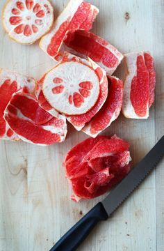 Beautiful pink grapefruit! One of Lo-Lo's top selling bar scents in August was refreshing pink grapefruit.