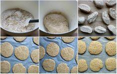 Grove polarbrød på 1-2-3 - LINDASTUHAUG Scones, Cookies, Baking, Desserts, Crack Crackers, Tailgate Desserts, Deserts, Biscuits, Bakken