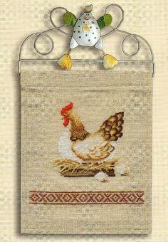 Cross Stitch Kitchen, Cross Stitch Bird, Cross Stitch Embroidery, Stitch 2, Hens, Pin Collection, Needlework, Photo Wall, Kids Rugs