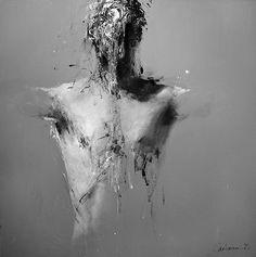 Área Visual: Benjamin Carbonne. Pinturas sobre la anatomía humana