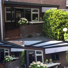 Prachtige foto's ontvangen vandaag!! Afgelopen week hebben wij deze aluminium veranda mogen plaatsen. Dat wordt heerlijk genieten onder deze mooie veranda!! Happy klanten en daar doen we het natuurlijk voor!!