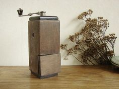 Small vintage coffee grinder / mill for kitchen by MitzVintage, $29.00