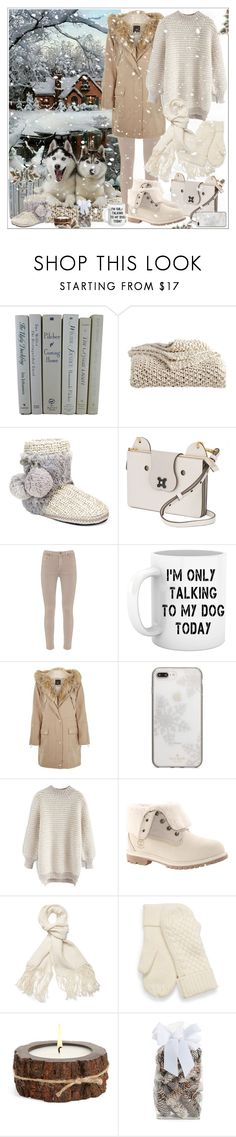 """""""Untitled #164"""" by shewalksinsilence ❤ liked on Polyvore featuring DKNY, Muk Luks, Anya Hindmarch, Mint Velvet, River Island, Kate Spade, Chicwish, Timberland, Helmut Lang and Himalayan Trading Post"""