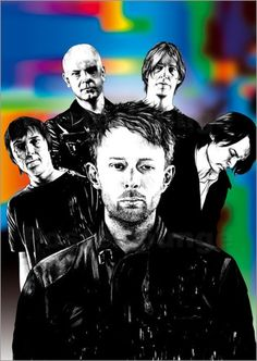 "Radiohead are an English rock band from Abingdon, Oxfordshire, formed in 1985. The band consists of Thom Yorke, Jonny Greenwood, Colin Greenwood, Phil Selway and Ed O'Brien. Radiohead released their debut single ""Creep"" in 1992"