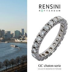 #ring #jewels #Rensini #Rotterdam Collectie Modern GC chaton-serie