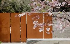 Image result for corten fence