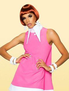 Naomi Smalls RuPaul's Drag Race Season 8 Drag Queen Bob The Drag Queen, Drag King, Judy Garland, Kardashian, Concept Clothing, Glinda The Good Witch, Queen Makeup, Rupaul Drag, Club Kids