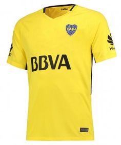 2017 Cheap Jersey Boca Juniors Away Replica Yellow Shirt [AFC629]