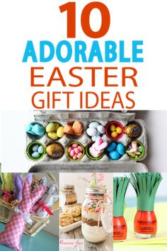 Easy easter hostess gift ideas easter easy and gift easter gifts treats and fun party favors all right here negle Choice Image