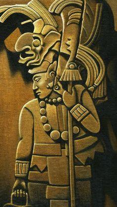 Katriona Chapman Illustration Blog: Mayan art