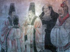 Ancient Chinese poet, Li Bai in Tang dynasty Jiang Qing, Jiang Shi, Chinese Painting, Chinese Art, Li Bai, Chinese Emperor, Ancient China, Hanfu, World History