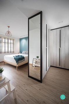 Renovation Journey: Living, Breathing Space – Home Renovation Bedroom Closet Design, Master Bedroom Design, Home Bedroom, Modern Bedroom, Diy Bedroom Decor, Bedroom Designs, Girls Bedroom, Bedroom Ideas, Budget Bedroom