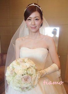 美人花嫁さまの素敵な3スタイル♡前編♡|大人可愛いブライダルヘアメイク『tiamo』の結婚カタログ