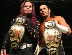 greates tag team next to Edge and Christian and DX, THE HARDY BOYS!!!!!!!