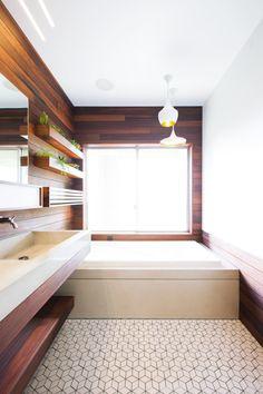 Bathroom renovation by Chris Brigham of Knife & Saw and Designer/Builder Fidel Archuleta