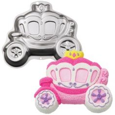 Wilton Forma para Bolo Carruagem de Princesa