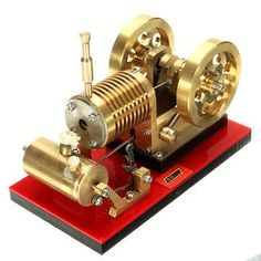 Only buy best saihu stirling engine model educational discovery toy kits sale online store at wholesale price. Science Toys, Science For Kids, Educational Toys For Kids, Learning Toys, Stirling Engine, Discovery Toys, Small Engine, Steam Engine, Tractors