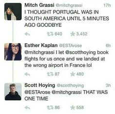 LOL, SCOTT!! I thought Portugal was in South America, too.
