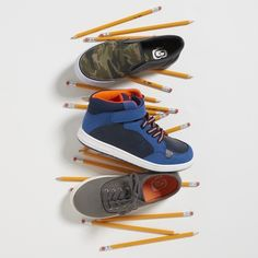 Back to School Shoes | Get the boys ready for school with all types of kicks he'll love. Hi-tops, low-tops and every pair in between. All at the PLACE for back to school.
