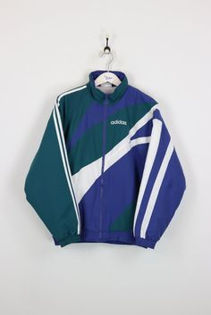 Adidas Coat Green/Navy XL