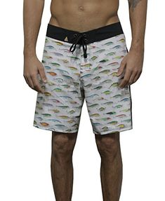 Sweatwater Men Slim Beach Elastic Waist Drawstring Summer Casual Short