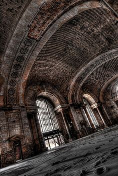 Michigan Central Station (Michigan Central Depot), Detroit, Michigan