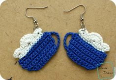 Cup of Cocoa earring