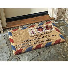 Antique Letter Indoor Outdoor Rug | Rugs | Ballard Designs